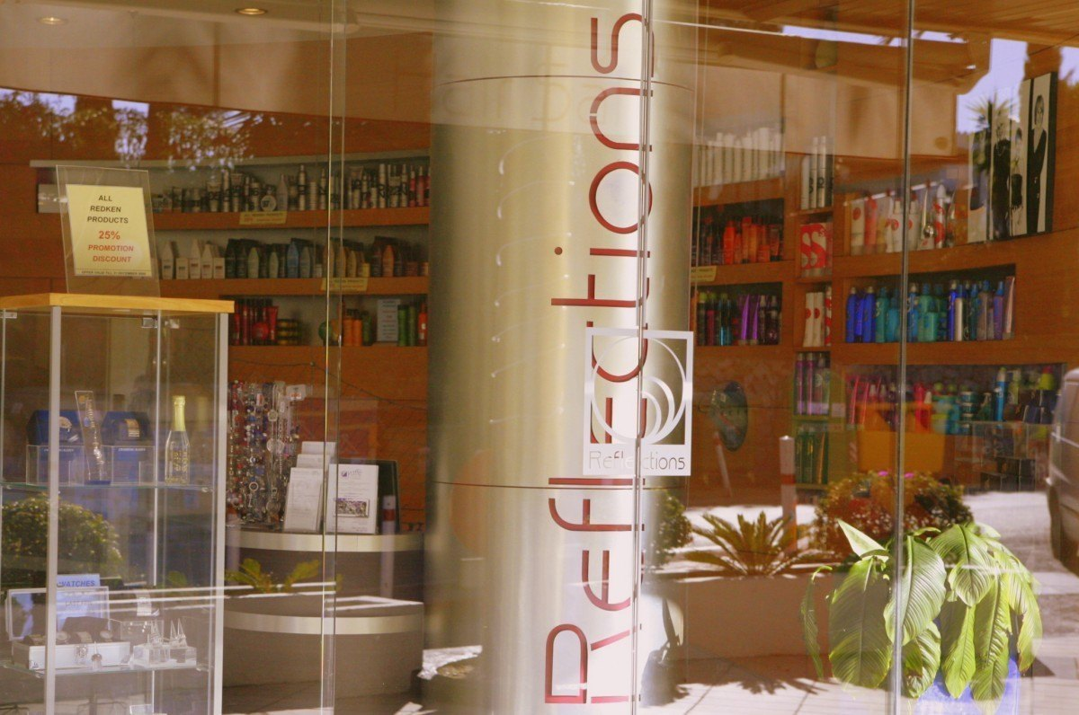 Reflections Shop Front